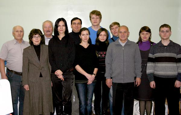 сотрудники лаборатории АМИВ