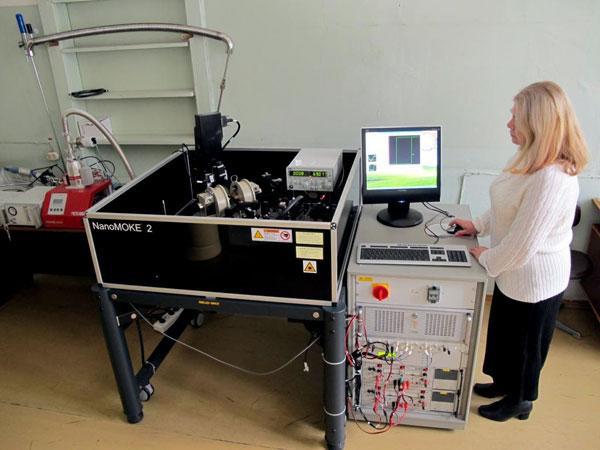 Установка магнитооптическая NanoMOKE 2