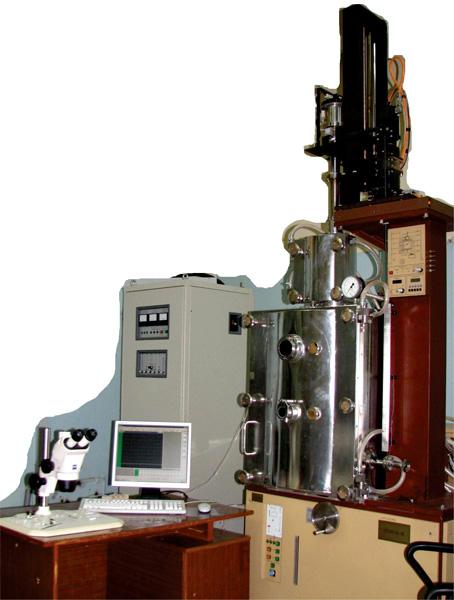 Установка для выращивания монокристаллов из расплава  «Ника-С» с индукционным нагревом