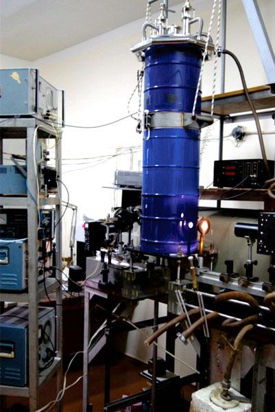 Установка для записи оптических спектров в магнитном поле
