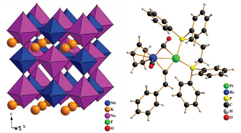 Примеры структур кристаллических соединений, решенных при помощи SMART APEX II