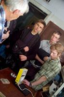 Экскурсия школьников в Институт физики СО РАН