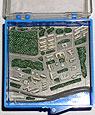 Макет Академгородка *#8212; миниатюрное исполнение. От лаборатории радиоспектроскопии института