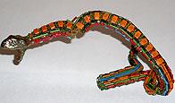 Змея, изготовленная из радиодеталей. От лаборатории физики магнитных явлений