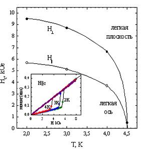 Magnetic phase diagram HoFe3(BO3)4